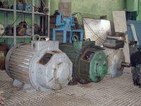 Электродвигатели с фазовым ротором