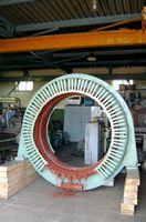 Статор высоковольтного электродвигателя